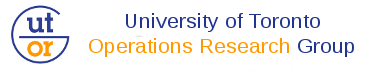University of Toronto Operations Research Group